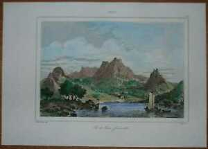 1840 print ROBINSON CRUSOE ISLAND, JUAN FERNANDEZ ISLANDS, CHILE (#11)
