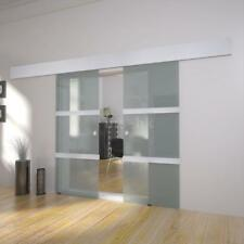 Doppia porta scorrevole in vetro robuste e durevoli nel tempo U1D2