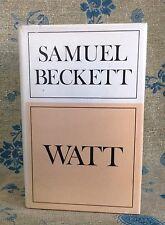 Samuel Beckett  - Watt - First Thus Edition - 1st / 1st  Hbk Dw 1976