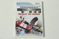 TrackMania: Build to Race (Nintendo Wii) Complete with Manual - Tested