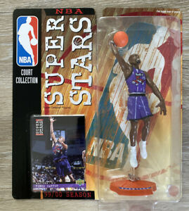 1999-2000 VINCE CARTER MATTEL NBA SUPER STARS FIGURES UPPER DECK CARD RAPTORS