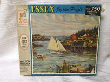 "Milton Bradley ESSEX Puzzle 750 pc. ""Homeward Breeze"" 1966"