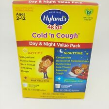 Hyland's 4 Kids Cold & Cough Day & Night Value Pack Homeopathic 2-12 Years