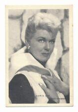 RARE 1950s DORIS DAY Vintage Trading Card Cadeau Special Souvenir Collectible