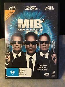 Men In Black 3 Retro Movie DVD action Will Smith M