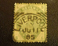 UK stamp #104 used F