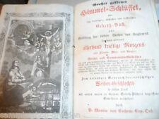 21002 Martin Großer goldener Himmel-Schlüssel Pesth 1864 Holzschnitte Gebetbuch