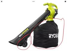 RYOBI Cordless Leaf Vacuum/Mulcher Bag and Wheels Only.