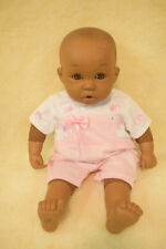 """African American Baby Doll Soft Body Giggle Box 17"""" L"""