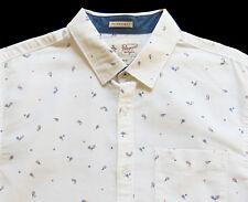 Men's PENGUIN White Vintage Tennis RACQUET RACKET Shirt SLIM FIT L Large NWT NEW