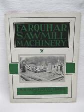 Farquhar Sawmill & Steam Machinery Brochure Booklet Book Catalog Vtg Old York Pa