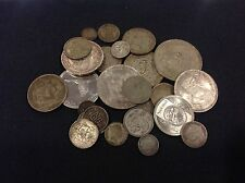 Lot of Mixed Silver Foreign World Coins! – A wonderful mix, 212+ grams