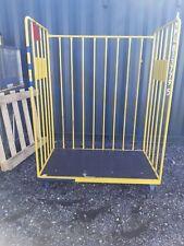 More details for industrial 3 side tubolar parcel cage ideal for warehousing