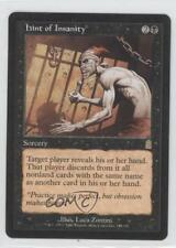 2001 Magic: The Gathering - Odyssey Booster Pack Base #143 Hint of Insanity 0k1