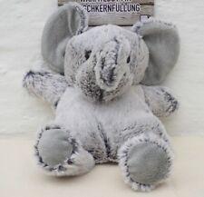 Bouillotte peluche Éléphant chaude Micro-ondes / froide congélateur noyau cerise