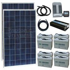 MACRO KIT- Medium Off-Grid Household Solar Power System with 500W of solar power