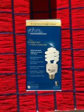 NEW Ott-lite 20w 25w 15w screw in base fluorescent light bulb CFL type S V 508