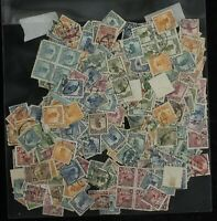 ROC china 1913-25 Junk London & 1st & 2nd Peking Print 0.5C-50C 500 stamps