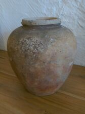 Antique clay water pot
