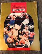 Fourth Annual Evening of Champions de La Hoya Program 2000