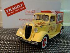 DANBURY MINT 1935 COCACOLA DELIVERY TRUCK.1:24.NIB.UNDISPLAYED.WITH COKE MACHINE