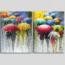 Unframed Home  Decor Canvas 2 Panels Wall Art Umbrella  Wall Art Canvas Prints
