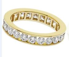 2.00ct F VS1 Brilliant Cut Diamond Full Eternity / Wedding Ring 18ct Yellow Gold