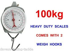 100kg HEAVY DUTY WEIGHING SCALES FOR COARSE PIKE CARP FISHING WEIGH TRIPOD SLING