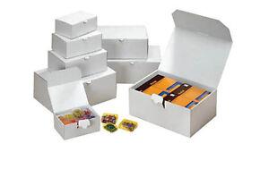 Faltschachteln 20 Stück  25,3 x 17,4 x 10,1 cm Schachtel Karton Faltkarton