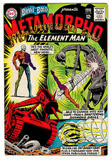 BRAVE AND THE BOLD #58 6.5 OFF-WHITE TO WHITE PAGES SILVER AGE METAMORPHO