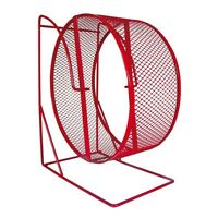 SALE Trixie Metal Mesh Pet Rat, Hamster, Gerbil Cage Exercise Wheel In 3 Sizes