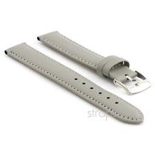 StrapsCo Genuine Matte Leather Watch Band Mens or Womens Ladies Strap