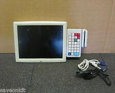 ELO MONITOR TOUCHSCREEN POS sistema POS con tastiera e carta Scanner