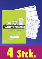 4 STÜCK DIN A5 FAHRTENBÜCHER,Fahrtenbuch,Fahrtenheft,Fahrtenbericht,Fahrtbericht