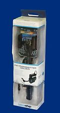 BlueChip titular de transmisor FM con USB para iPhone, iPod, iPad, teléfono inteligente, MP3/MP4