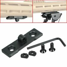Aluminum Bipod Adapter Mount Sling Stud for Mlok/M-Lok Handguard Rail