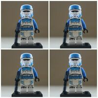 Star Wars Imperial Transport Pilots Storm Troopers 4 Mini Figures Fit lego Toys