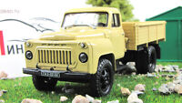 Scale model truck 1:43 GAZ-52-04, beige 1975