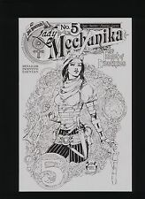 LADY MECHANIKA THE TABLET OF DESTINIES #5C BENITEZ RETAILER SKETCH CVR! SEE PICS