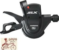 SHIMANO SLX M670 RAPID FIRE 10-SPEED BLACK REAR BICYCLE RIGHT SHIFTER