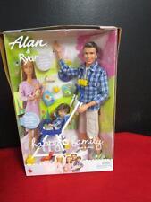 Alan & Ryan Happy Family Barbie Doll Ken Tommy Dad and Son ~ Stroller Midge