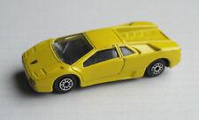 Maisto Lamborghini Diablo gelb Sportwagen Auto Car yellow giallo jaune