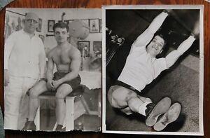 2 Different Original Vintage 1930's-40's Boxing Photos: Sammy Fuller