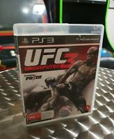 UFC Undisputed 3 UFC 3 PS3 Playstation 3 Game - COMPLETE