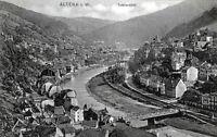 Tolle Ansichtskarte Altena in Westfalen (Totalansicht)