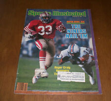 SUPERBOWL XIX 1985 SPORTS ILLUSTRATED NINERS NAIL 'EM 49ers ROGER CRAIG COVER
