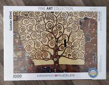 Gustav Klimt Tree Of Life Fine Art Collection 1000 Piece Puzzle NEW!!!