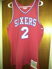 Moses Malone Philadelphia 76ers Jersey authentic Mitchell & Ness Size 48