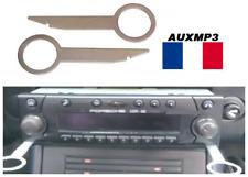 2 Clés clef extraction autoradio démontage PORSCHE BOXSTER 2000 2001 france