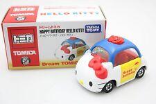 Takara Tomy Dream Tomica Hello Kitty Happy Birthday Asia Version Diecast Toy Car